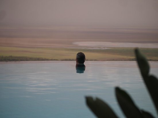 Lake Manyara Serena Lodge:                   The Infinity Pool