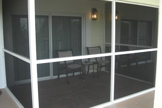 MB at Key Largo:                   Each unit has a screened in porch area.