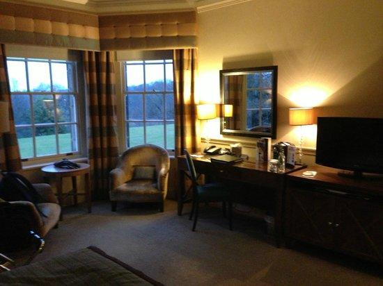 Crathorne Hall Hotel:                   Desk