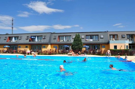 Hotel Lacotel: Grande piscine 25m