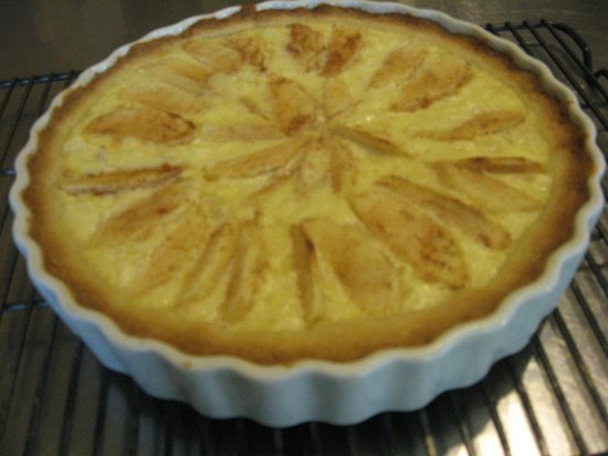 The Centennial House Bed and Breakfast: Our signature Apple Cream Cheese Tart