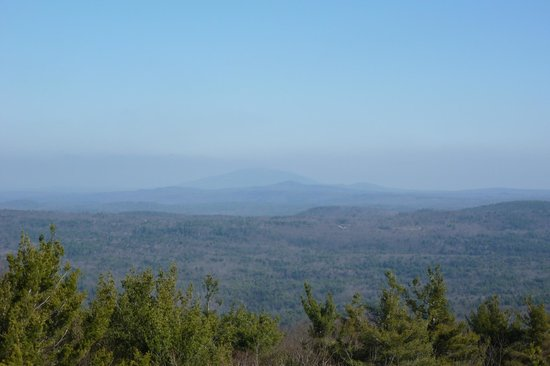 The Centennial House Bed and Breakfast: View from Mount Grace, Warwick State Forest