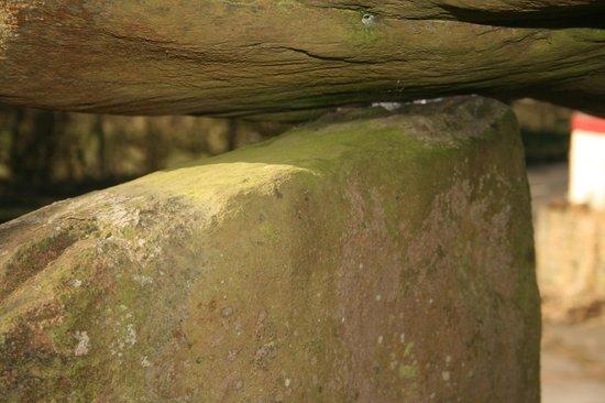 Ballylumford Dolmen: Its colours are wonderfully rustic.