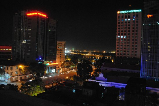 Saigon Prince Hotel:                   View from room