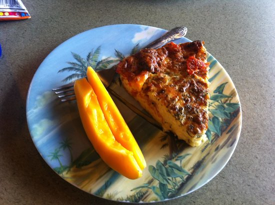 Orchid Isle Cafe :                   Quiche