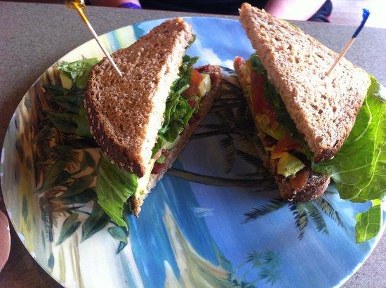 Orchid Isle Cafe :                   BLAT Sandwich