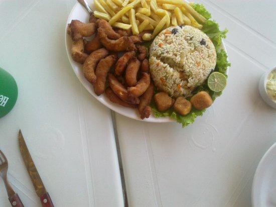 Morro Branco:                   camarão delicioso, nem precisava o arroz hummm