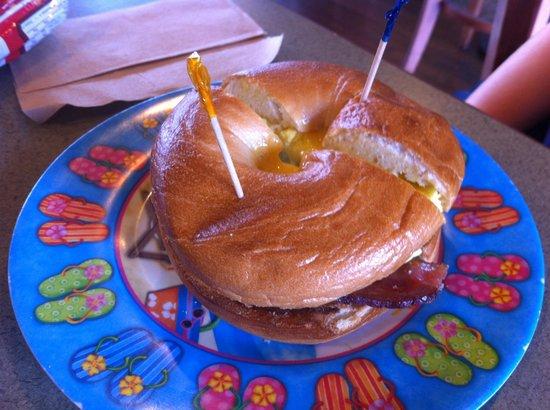 Orchid Isle Cafe :                   Sunrise Sandwich