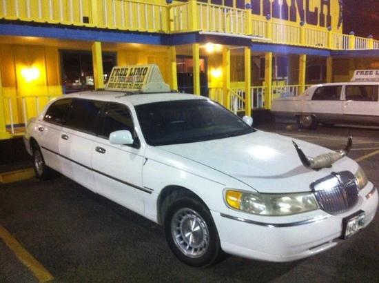 Big Texan Motel: limusine