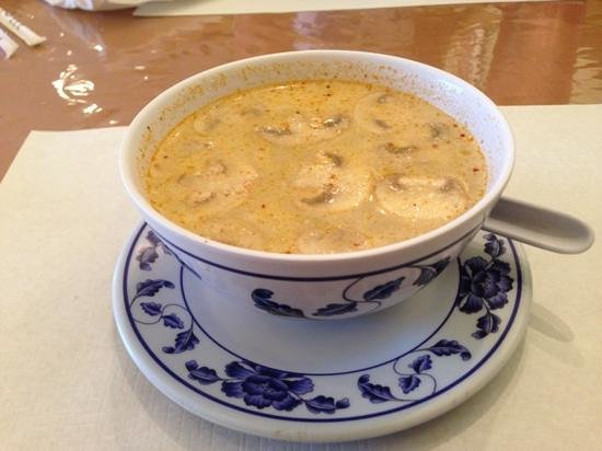 Thai Garden : coconut soup