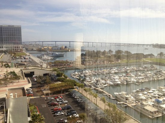 Marriott Marquis San Diego Marina: View from room 10th floor.