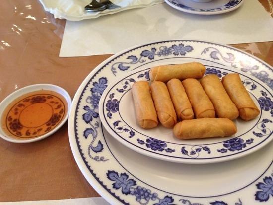 Thai Garden: spring rolls- tasty