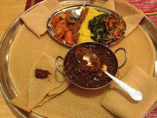 Injera Ethiopian Restaurant London