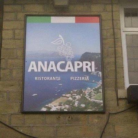 Anacapri Ristorante & Pizzeria:                                     Outside Sign