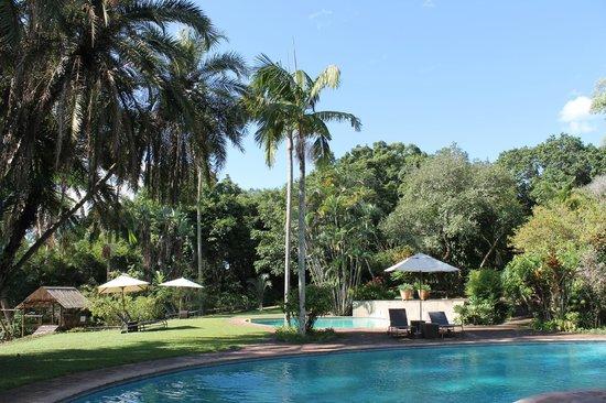 aha Casa do Sol: Poolanlage mit Garten