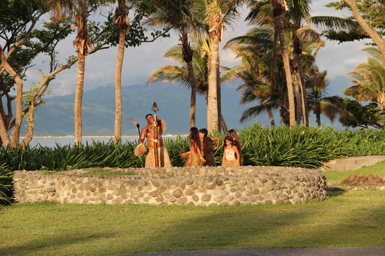 Sofitel Fiji Resort & Spa:                   Torch Lighting Ceremony