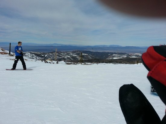 Brian Head Resort: Top of lift view #2