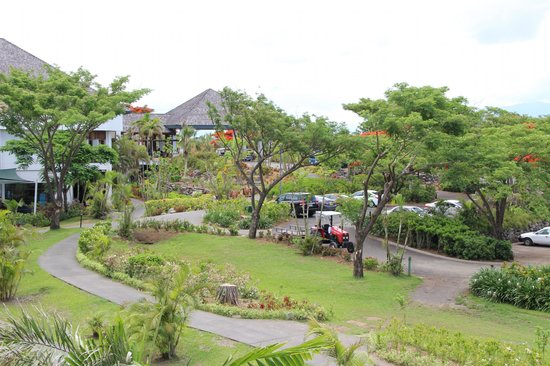 Sofitel Fiji Resort & Spa:                   Gardeners at Work