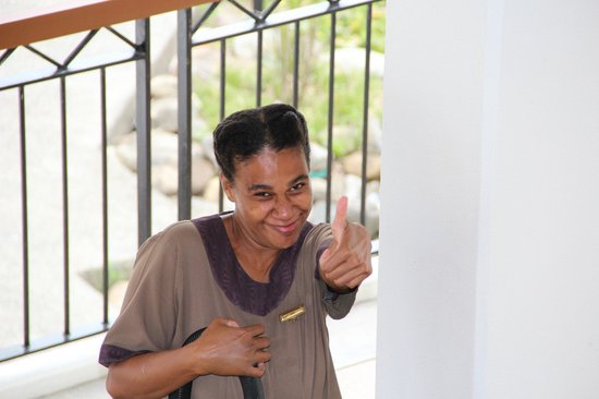 Sofitel Fiji Resort & Spa:                   One of the many Friendly Housekeepers