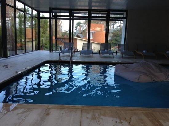 Barradas Parque Hotel & Spa: Piscina techada climatizada