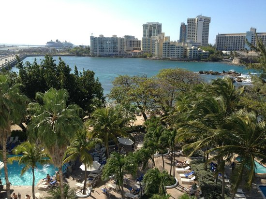 The Condado Plaza Hilton:                   Pool & Beach Area
