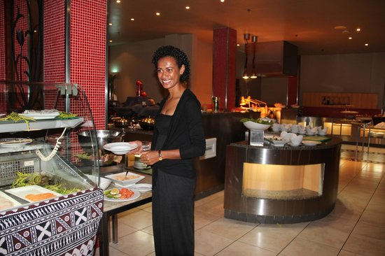 Sofitel Fiji Resort & Spa :                   Buffet Meal for a 'special person' at Lagoon Restaurant