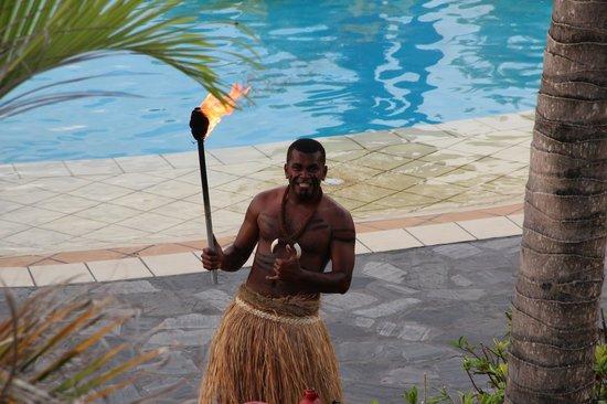 Sofitel Fiji Resort & Spa:                   Torch Lighting Ceremony