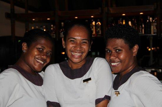 Sofitel Fiji Resort & Spa:                   Some of the F&B Team at Salt Restaurant