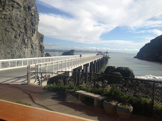 Seascape Restaurant:                                     View from restaurant