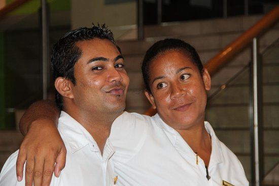 Sofitel Fiji Resort & Spa:                   Two of the F&B Team Leaders