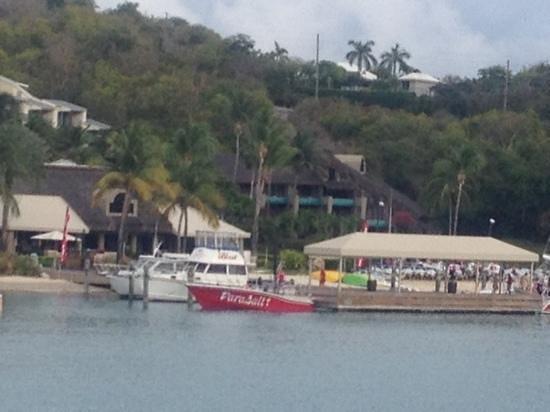 The Westin St. John Resort Villas:                   Boat Dock Westin