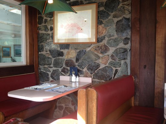 Seascape Restaurant:                                     Our booth