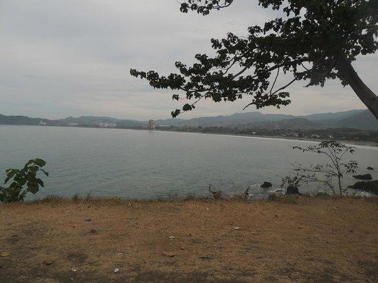 Beach Break Resort :                                     vue de la plage jaco
