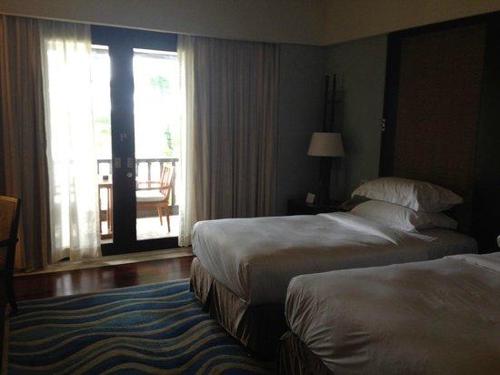 Conrad Bali: twin beds