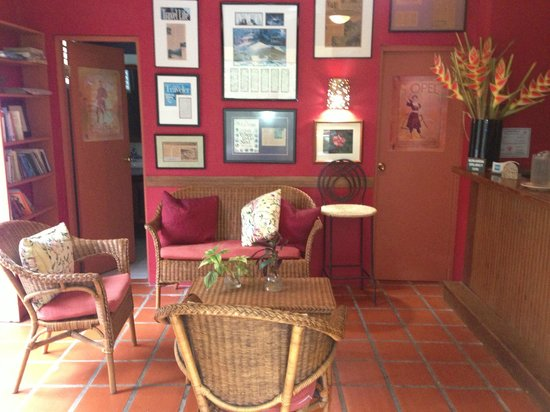 """Casa Grande Mountain Retreat: Bar/Lounge and Reading Room """"Hot Spot"""" for Internet"""