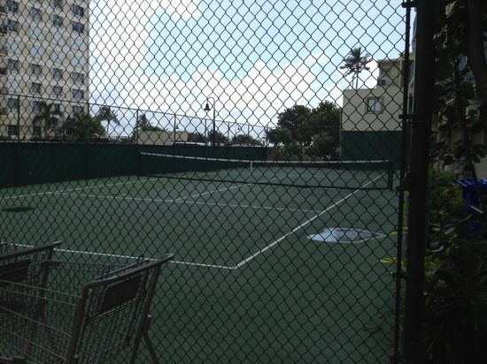 The Native Sun: Tennis courts