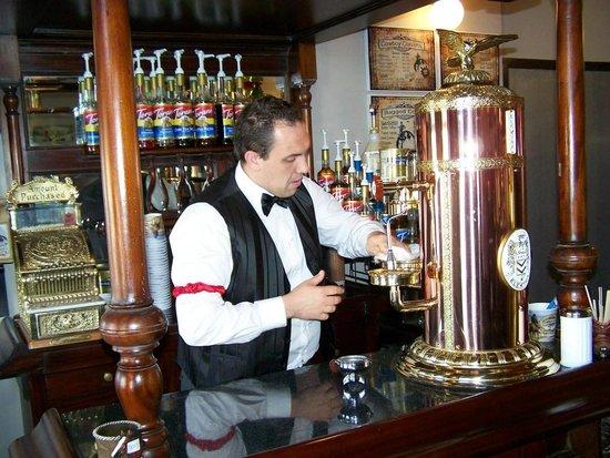 Cowboy & Co. Coffee Cafe:                   Marshal Jordan Barista at Work.