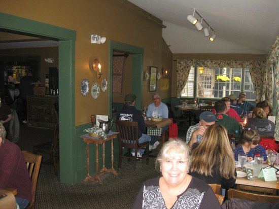 Dining area, The Common Man, Lincoln, NH