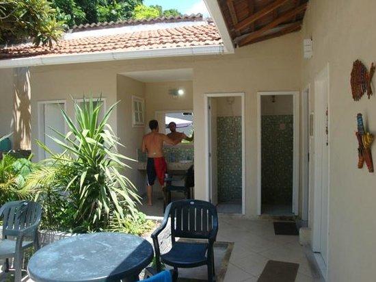 Bossa in Rio Hostel:                   Baños