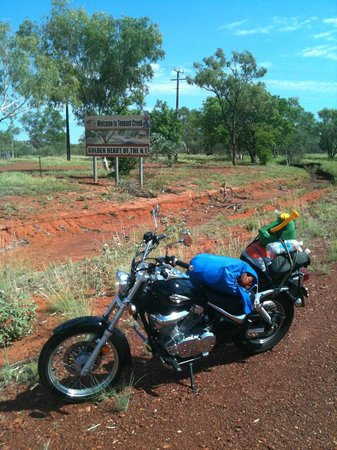 Abajaz Motor Inn:                   photo of my baby at tennant creek
