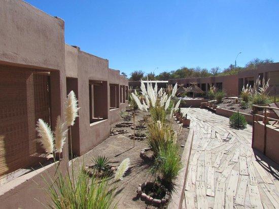 Hotel Noi Casa Atacama:                   arquitetura da região