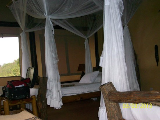 ‪‪Kyambura Gorge Lodge‬: room‬