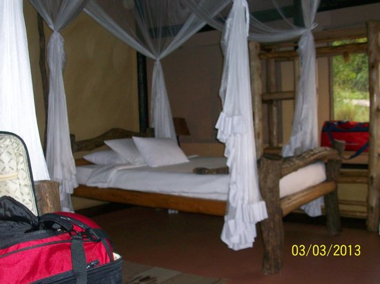 ‪‪Kyambura Gorge Lodge‬: bed‬