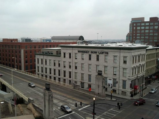 Courtyard Louisville Downtown:                   view from 8th floor