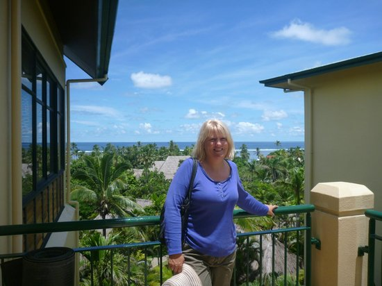 Outrigger Fiji Beach Resort:                                     Beautiful day beautiful wife.