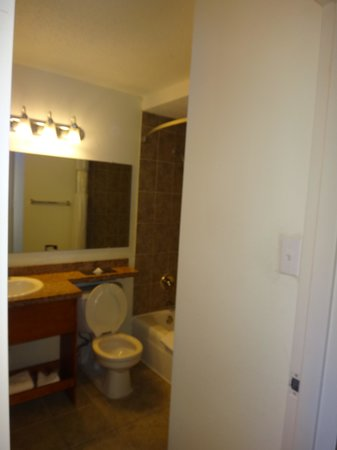 Ramada Hialeah/Miami Airport: Bathroom