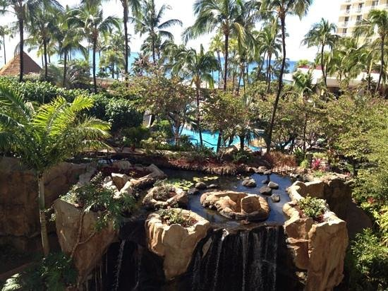 The Westin Maui Resort & Spa:                   view from 415