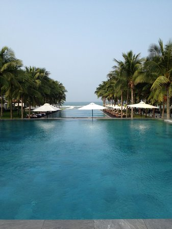 The Nam Hai Hoi An:                   The pools
