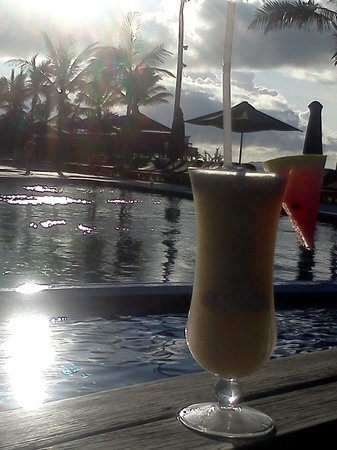 Hilton Fiji Beach Resort & Spa:                   Pina colada