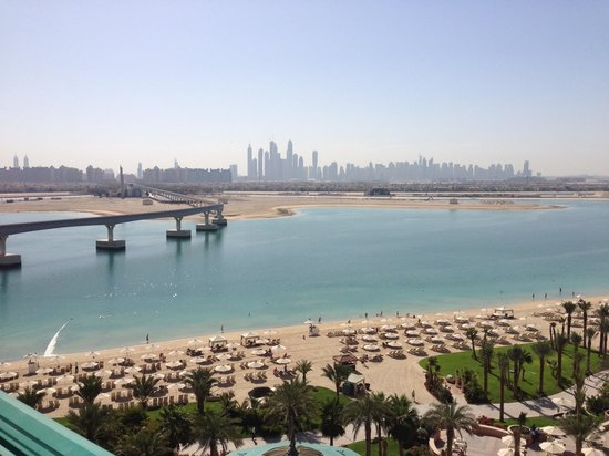 Atlantis, The Palm:                   Another view from balcony